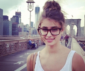 girl, taylor marie hill, and glasses image