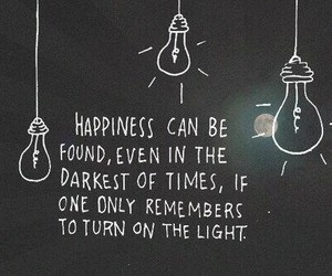 happines, lights, and quote image