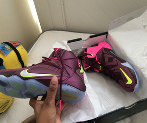 lebrons xll and shoes problem image
