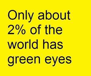 quote and green eyes image