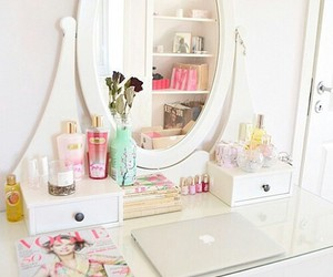 room, girly, and bedroom image