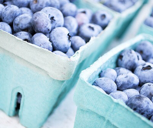blueberry, blue, and food image