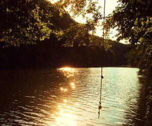 nature, lake, and summer image