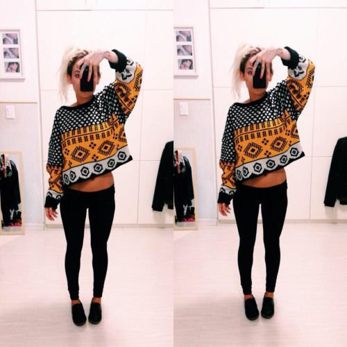 fashion, girl, and leggings image