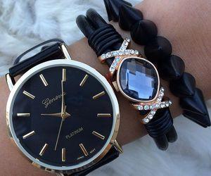 fashion, black, and luxury image