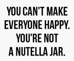 happy and nutella image
