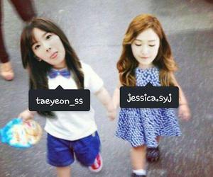 taeyeon - jessica image