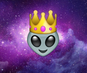 alien, galaxy, and hipster image