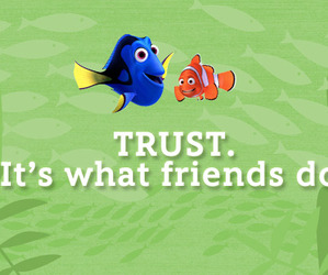 dory, movie, and text image