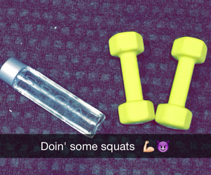 fitness, girly, and voss image