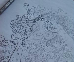 art, drawing, and band image