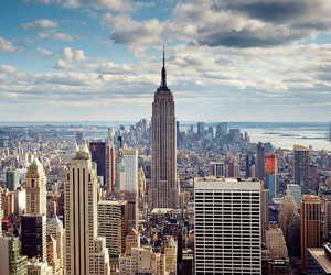 beautiful, empire state building, and new york city image