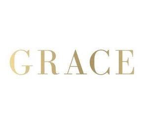 grace, gold, and white image