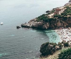 beach, beautiful, and holidays image