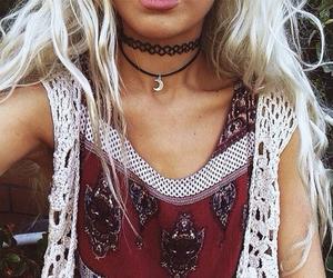 fashion, blonde, and boho image