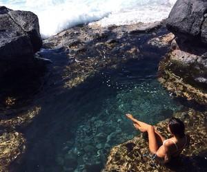 beach, girl, and amazing image