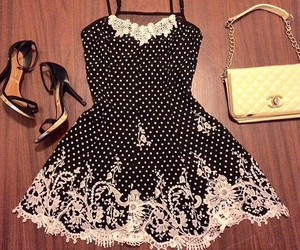 dress, beautiful, and look image