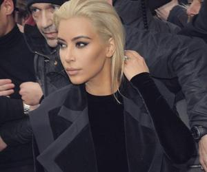 blonde, kim kardashian, and hair image