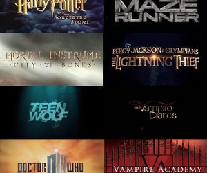 harry potter, doctor who, and teen wolf image