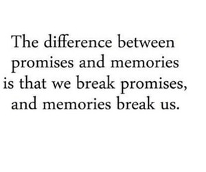 quotes, memories, and promise image