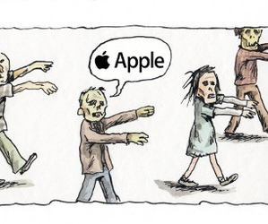 apple and zombies image