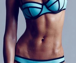 fitness, bikini, and triangl image