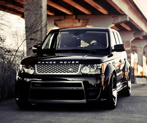 car, luxury, and range rover image