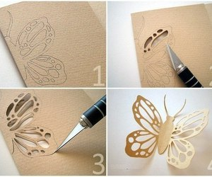 diy, butterfly, and art image