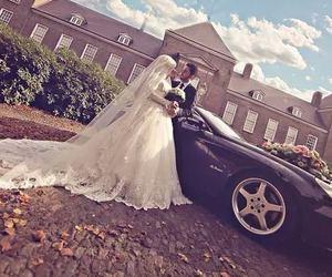 wedding, love, and beautiful image