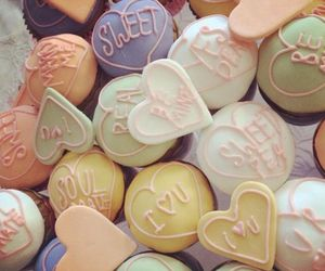 candy, colourful, and hearts image