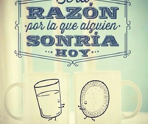 smile, frases, and razon image