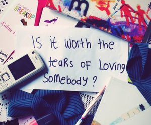 story of my life, these words I write, and tears image