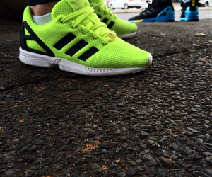 zx flux adidas his hers image