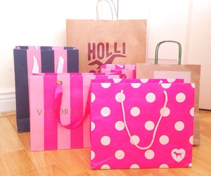 bags, fashion, and shopping image