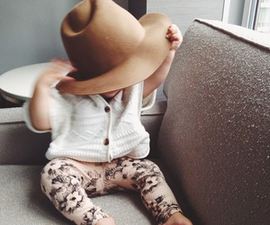 baby, cute, and style image