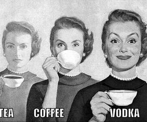 vodka, tea, and coffee image
