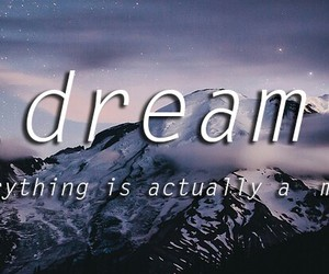 Dream, Lyrics, and music image