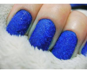 blue, girly, and nails image
