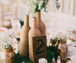 decoration, flowers, and party image