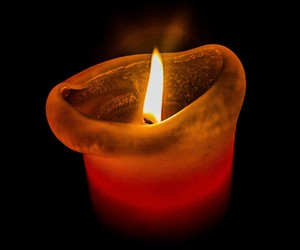 candle, feuer, and light image