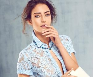 fashion, blue lace, and turkish model image