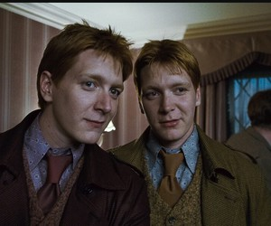 harry potter, twins, and Fred image