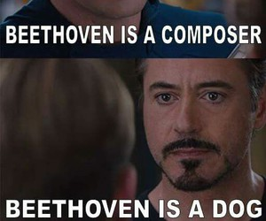 Avengers, Beethoven, and capitain america image