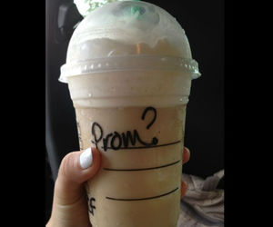 Prom, starbucks, and coffee image