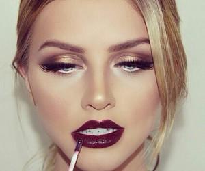 makeup, lips, and make up image