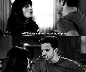 people, new girl, and jessica day image