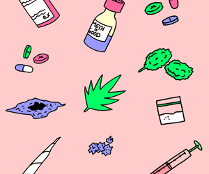 drugs, weed, and cocaine image