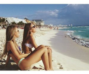 beach, tan, and friends image