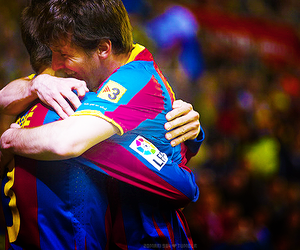 Barca, lionel messi, and heart image
