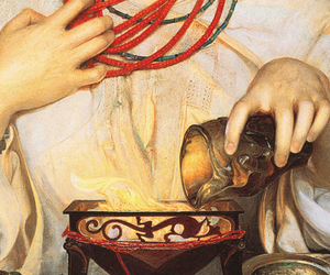 art, detail, and Frederick Sandys image